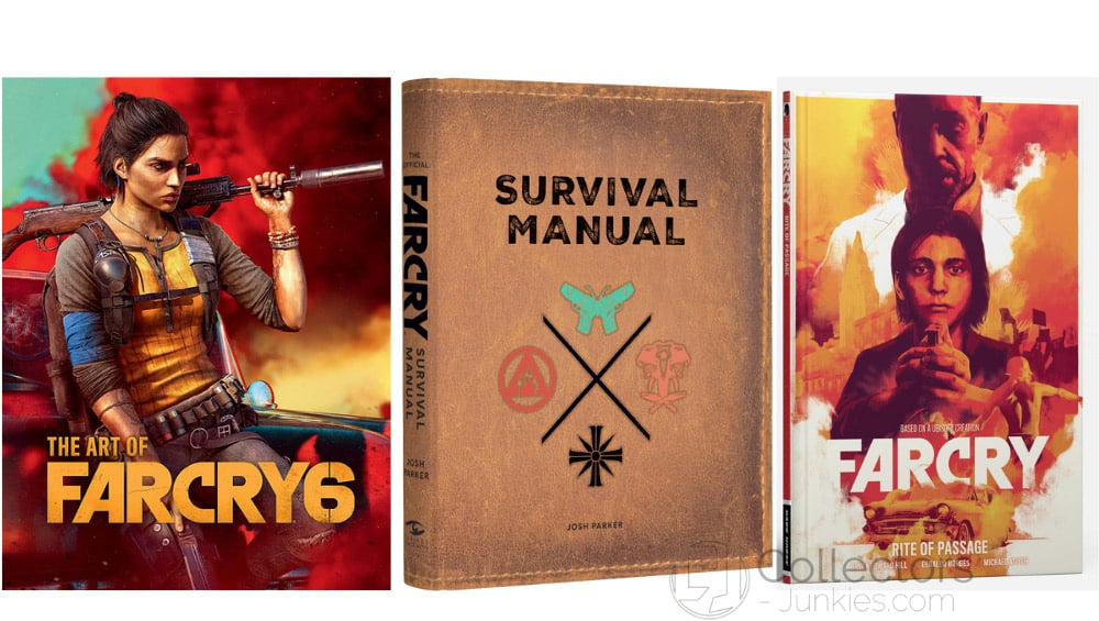 """Far Cry 6: """"The Art of Far Cry 6"""", """"Survival Manual"""" und """"Rite of Passage"""""""