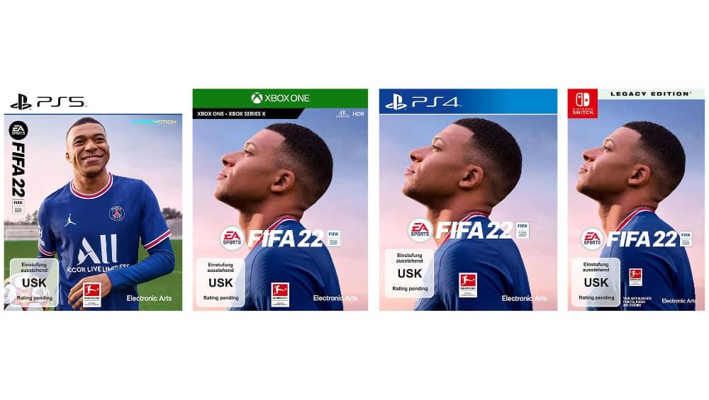 """""""Fifa 22"""" ab Oktober 2021 in der Ultimate Edition, Standard Plus Edition und weitere Varianten für PC, PS4, PS5, Xbox One und Xbox Series X/S"""