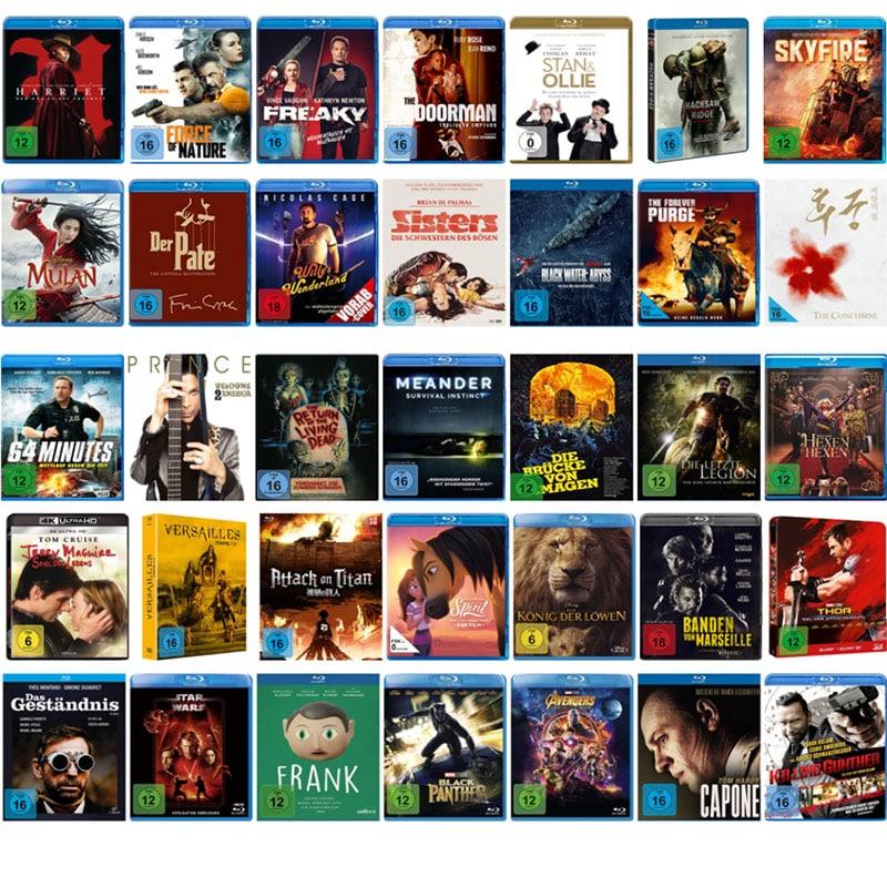 Einige Filme & Serien reduziert bei Amazon – unter anderem: Blu-rays für je 8,49€