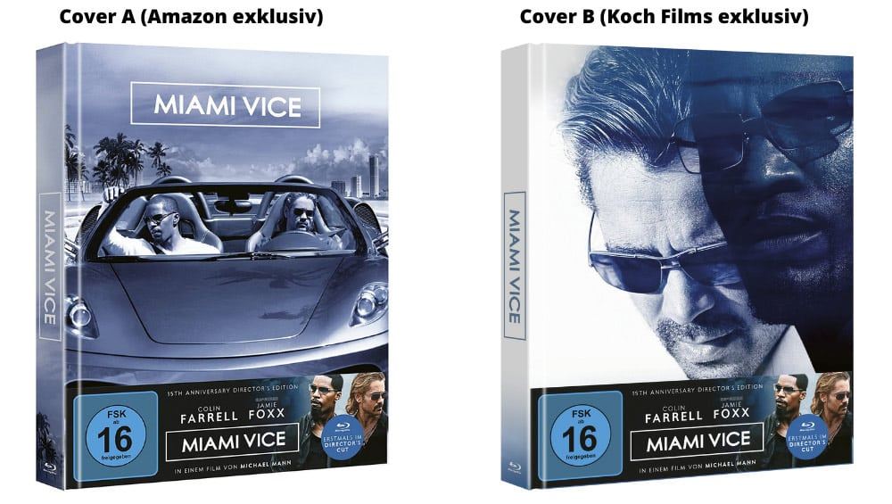 """Miami Vice (2006)"" ab Oktober 2021 in einer 15th Anniversary Director's Edition im Blu-ray Mediabook – Update2"