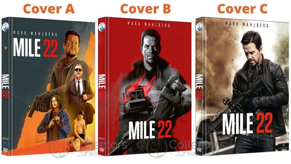 """""""Mile 22 (2018)"""" erscheint in 3 Blu-ray Mediabooks"""