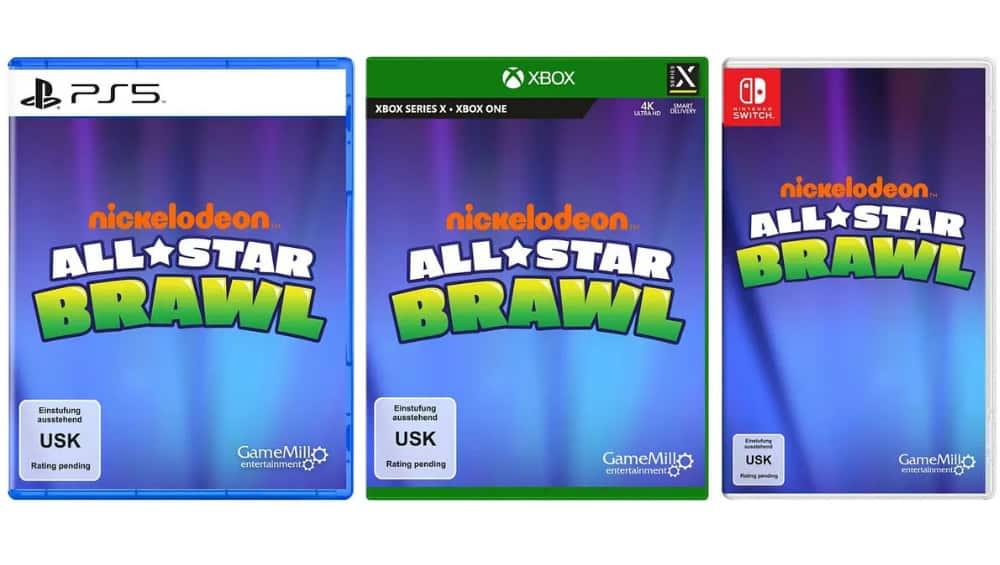 """""""Nickelodeon All-Star Brawl"""" für die Playstation 5/4, Xbox Series X/One und Nintendo Switch"""