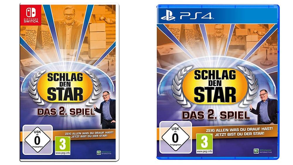 Schlag den Star – Das 2. Spiel für die Nintendo Switch und Playstation 4 für je 29,99€