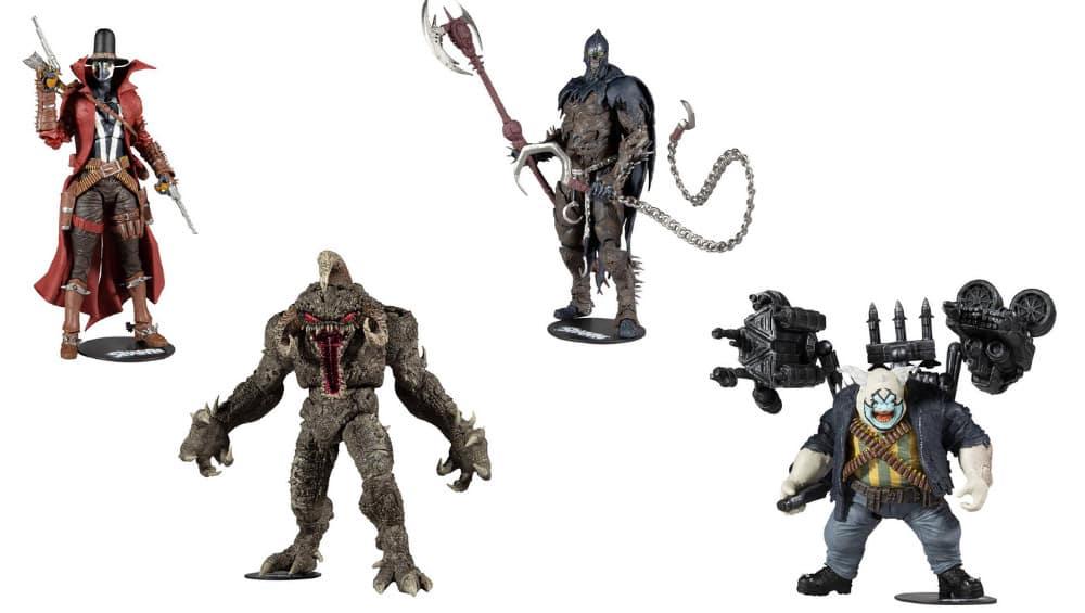 4 Spawn Actionfiguren von McFarlane   ab November 2021
