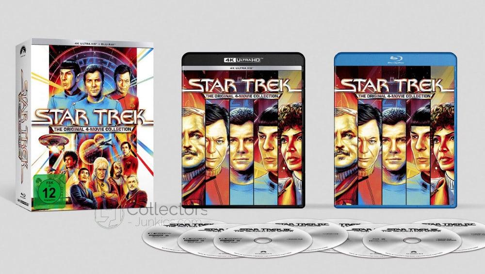 Star Trek I-IV ab September 2021 jeweils auf 4K Ultra HD Blu-ray (Deutschland/ USA/ Frankreich/ England) – Update3