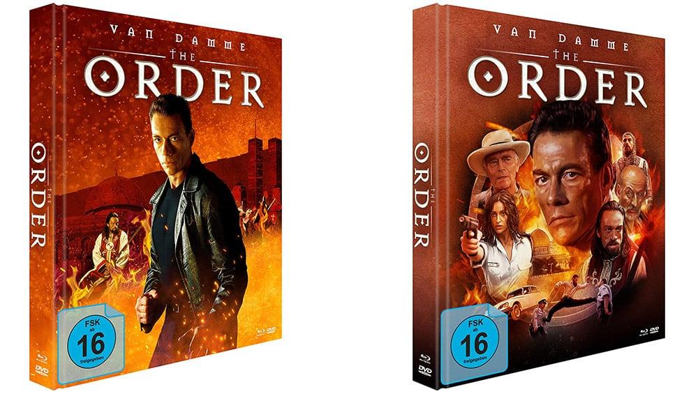 """The Order"" im Blu-ray Mediabook Cover A & B für je 15,97€"
