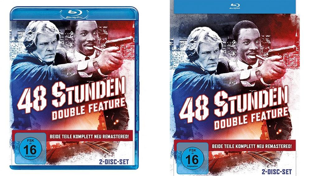 """""""Nur 48 Stunden"""" sowie """"Und wieder 48 Stunden"""" mit neuen 4K-Filmtransfers im Blu-ray Mediabook – Standard Variante ab November 2021"""