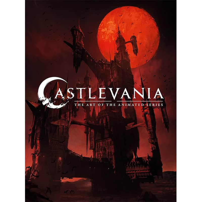 """""""Castlevania: The Art of the Animated Series"""" in der Hardcover Ausgabe 