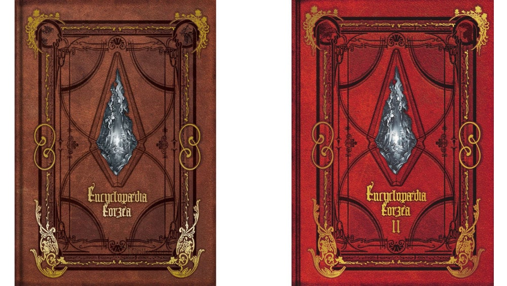 """Encyclopaedia Eorzea – The World of Final Fantasy XIV"" Volume 1 & II jeweils in der Hardcover Ausgabe | ab April 2022"