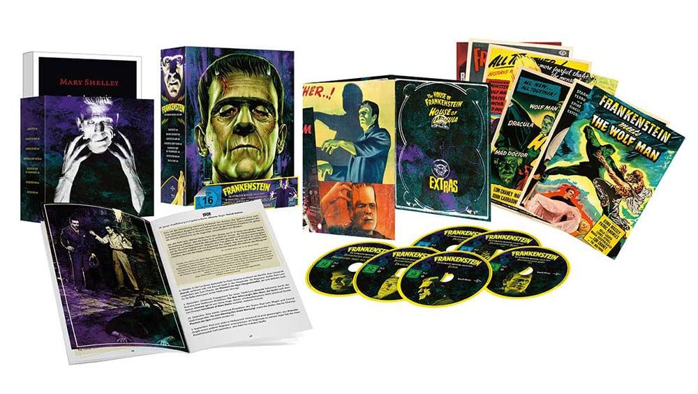 """""""Frankenstein – die Ultimative Monster-Collection"""" in 4K-restauriert auf Blu-ray ab Oktober 2021 – Update"""