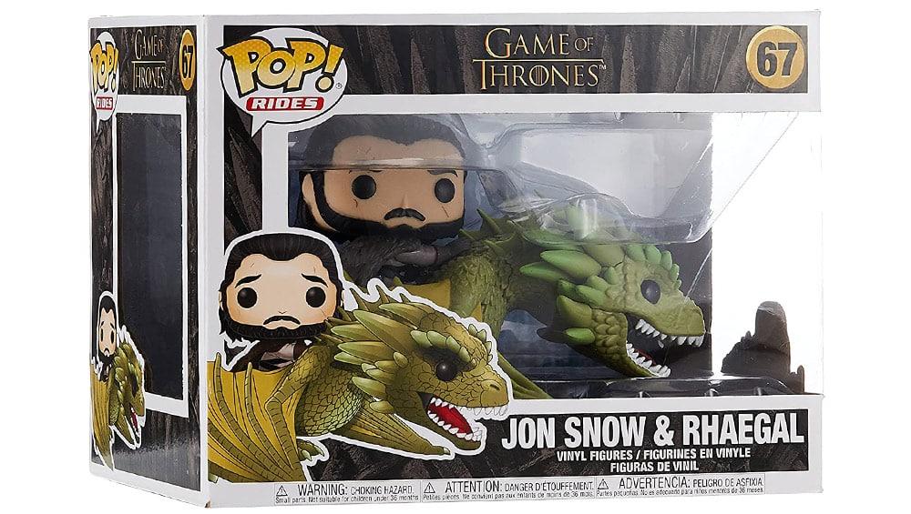 Funko POP! Rides: Game of Thrones – Jon Snow & Rhaegal für 18,25€