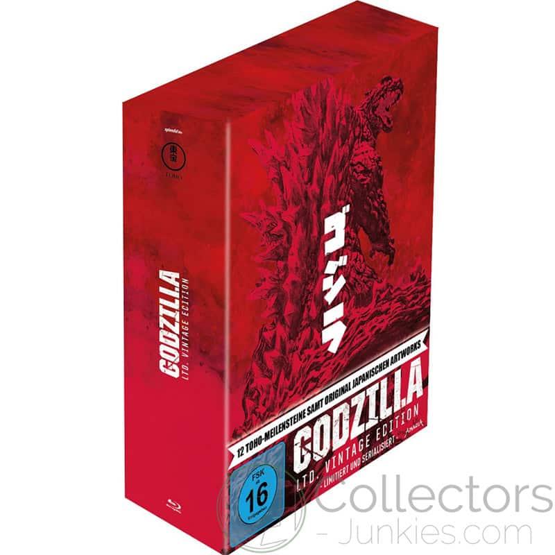Godzilla: 12-Film Limited Vintage Edition (Blu-ray) | ab November 2021 – Update3