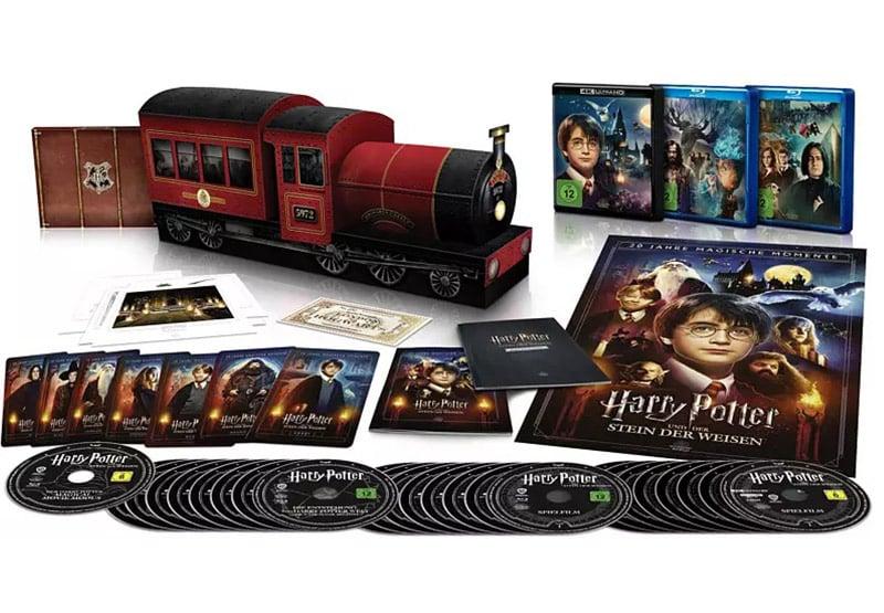 """Harry Potter Collection"" in der Hogwarts Express Collectors Edition (4K UHD + Blu-ray) (DE/ UK/ US/ FR) | ab Dezember 2021 – Update4"