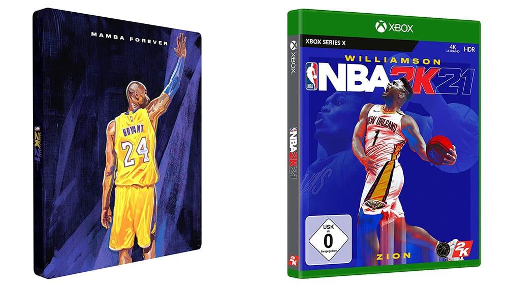 """""""NBA 2K21"""" in der Steelbook Edition (Xbox Series X) für 11,31€"""