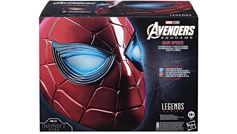 "Avengers: Endgame – Spider-Man ""Iron Spider"" Helm 1:1 Replik von Hasbro | ab 4. Quartal 2021"