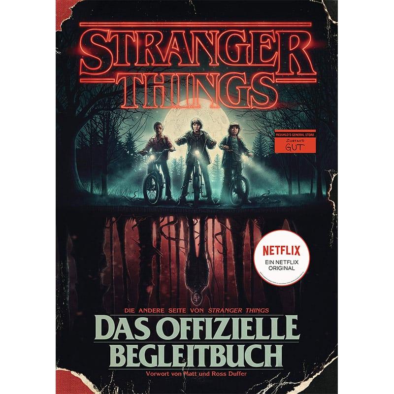 Stranger Things – Das offizielle Begleitbuch in der Hardcover Ausgabe für 7,99€