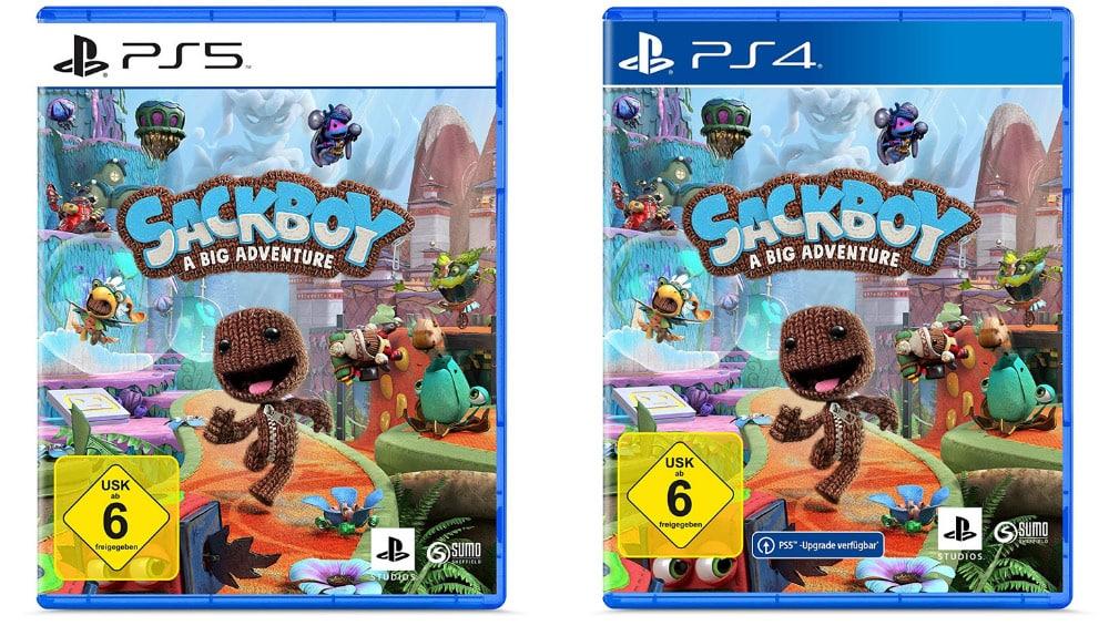 """""""Sackboy: A Big Adventure"""" für die Playstation 4 für 29,69€ und für Playstation 5 für 44,99€"""