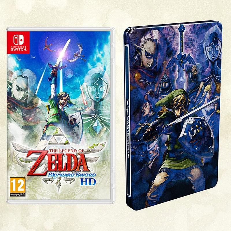 """""""The Legend Of Zelda: Skyward Sword"""" inkl. Steelbook für 50,94€ (England)"""