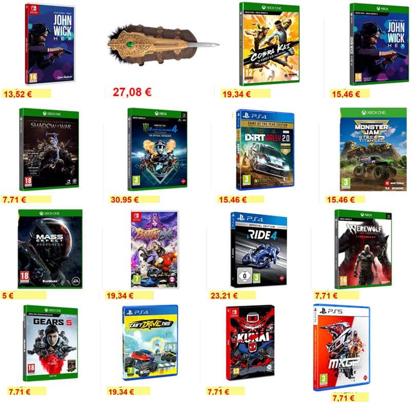 Reduzierte Spiele bei Alza – unter anderem: Kunai – Nintendo Switch für 7,71€ oder Werewolf: The Apocalypse – Earthblood – Xbox für 7,71€