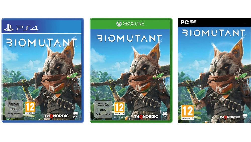 """""""Biomutant"""" in der Standard Variante für Playstation 4, Xbox One und PC für je 36,99€"""