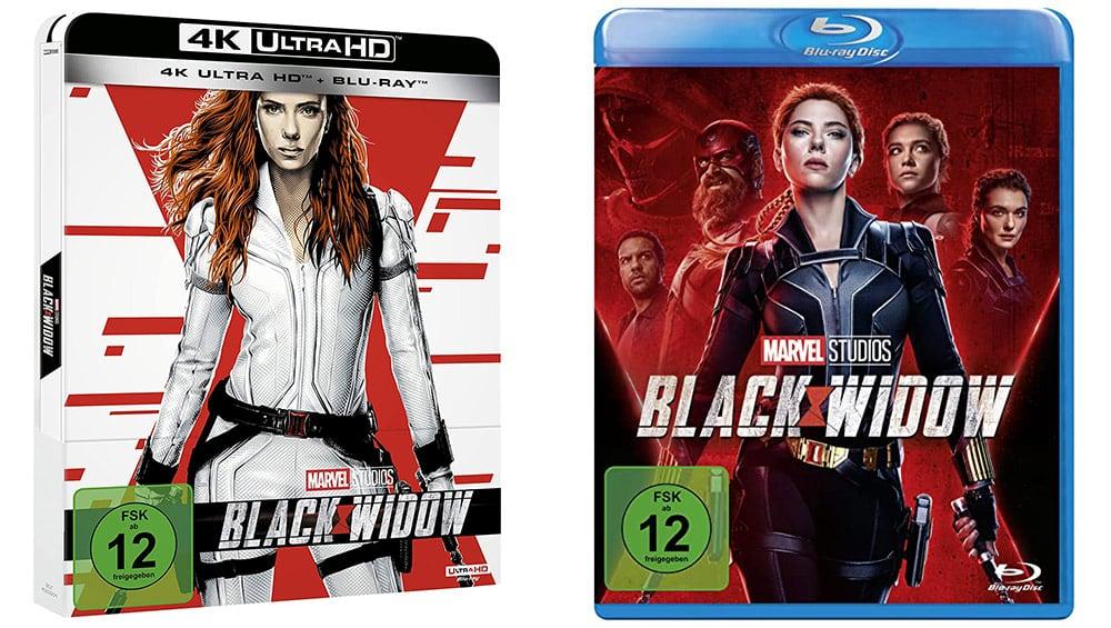 """""""Black Widow"""" im 4K Steelbook sowie in den Standard Varianten auf Blu-ray und DVD (DE/ FR/ ES/ UK)   ab September 2021 – Update6"""