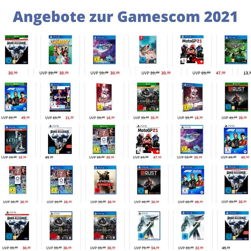 Angebote zur Gamescom 2021 bei MediaMarkt & Saturn