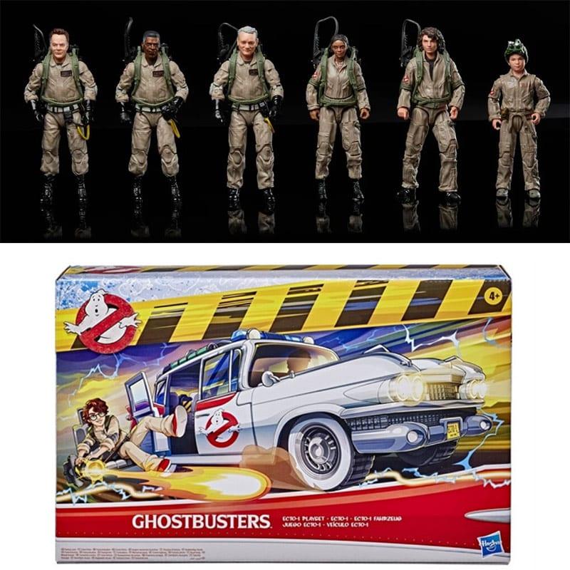 Ghostbusters: Legacy – Ecto-1 Fahrzeug & Actionfiguren von Hasbro