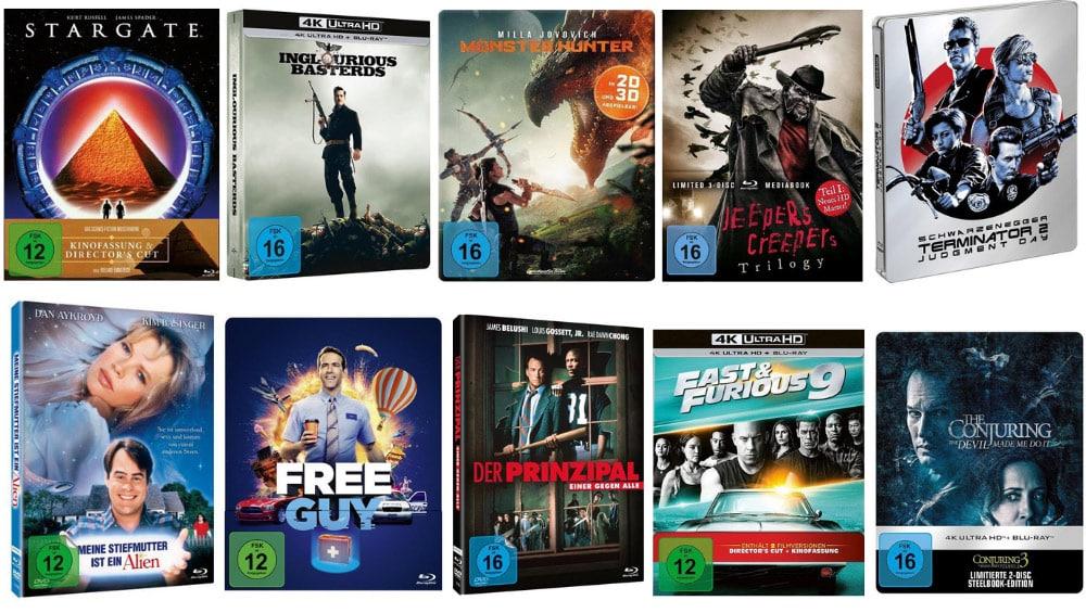 18% Rabatt auf Filme, Spielwaren, Hörbücher und Hörbuch-Downloads bei Thalia – unter anderem: Die Killerhand im Blu-ray Mediabook für 19,50€ – Aktion endet heute
