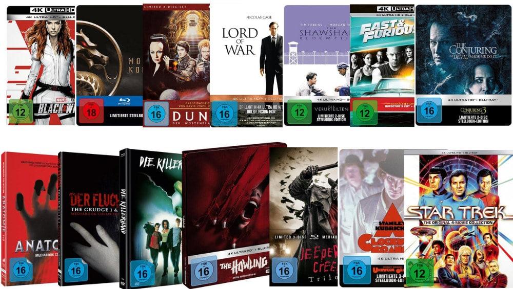10% Rabatt auf Filme, Spielwaren, Hörbücher und Hörbuch-Downloads bei Thalia – unter anderem: Black Widow 4K Steelbook für 31,49€ – Aktion endet bald
