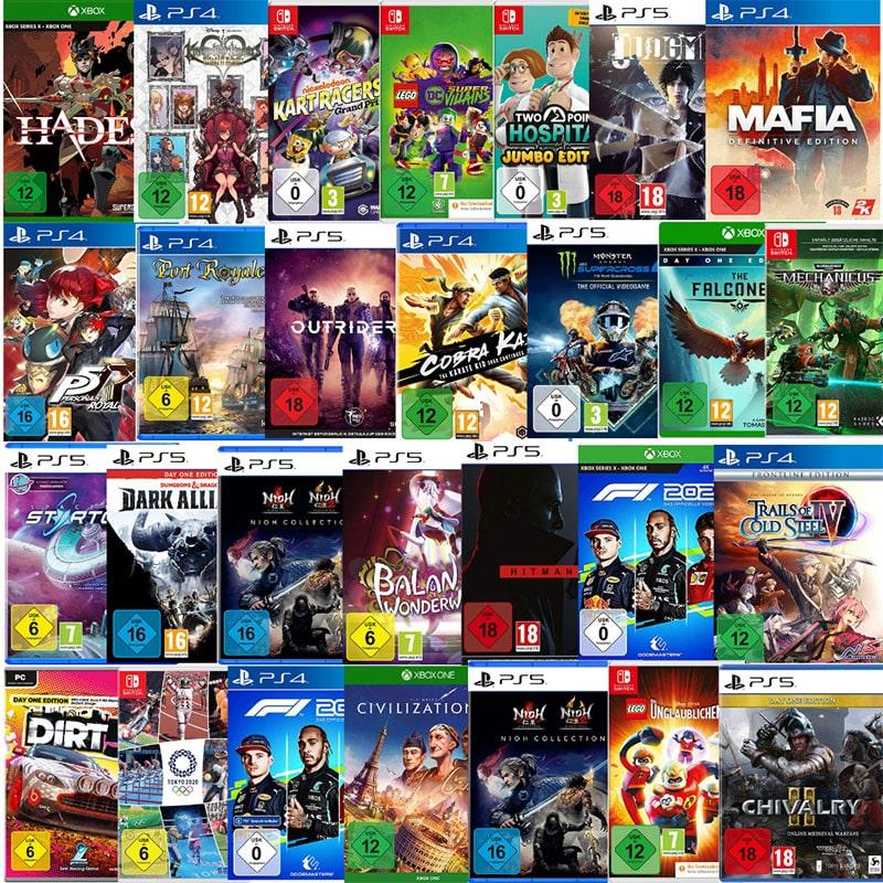 Videospiele reduziert bei Amazon – unter anderem: Marvel's Avengers: Earth's Mightiest Edition für 55,96€ | Spacebase Startopia für die Playstation 4/5 für je 25,10€