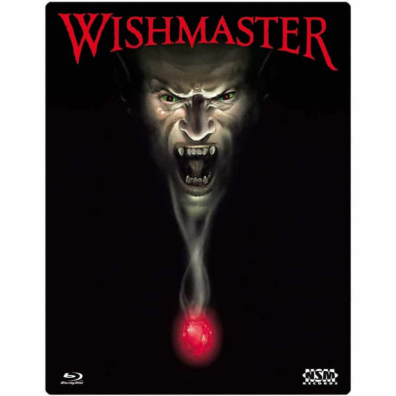 """""""Wishmaster"""" im Blu-ray Steelbook für 11,97€"""