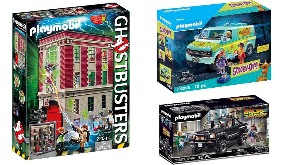Reduzierte Playmobil Sets – unter anderem: SCOOBY-DOO! Mystery Machine für 22,99€ oder Back to the Future Marty's Pick-up Truck für 23,99€