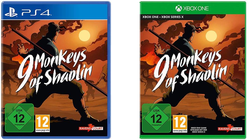 """""""9 Monkeys of Shaolin"""" für die Playstation 4 und Xbox One für je 9,99€"""