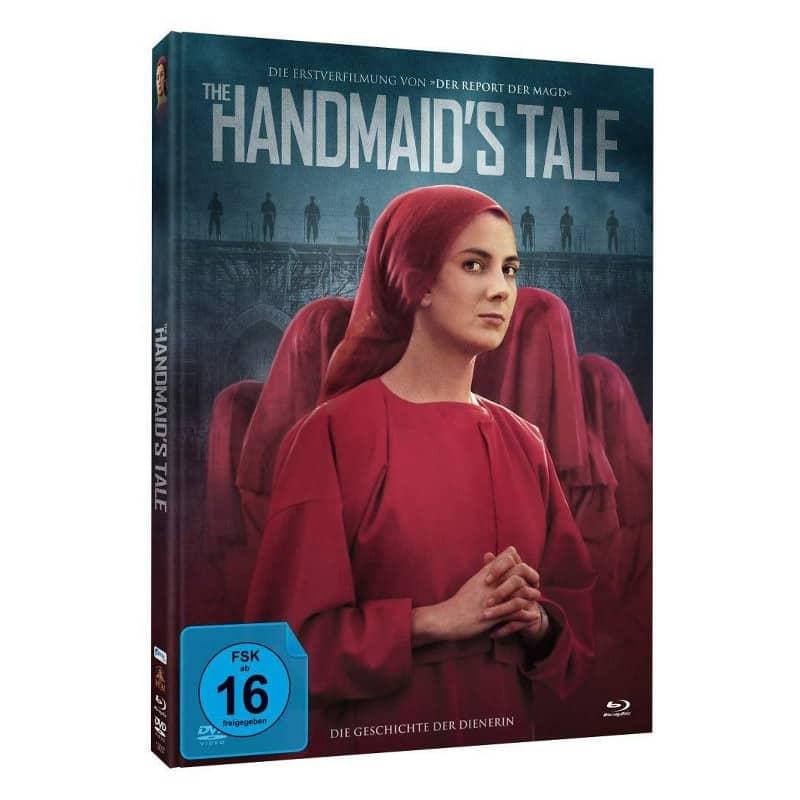 """""""Die Geschichte der Dienerin (1990)"""" im Blu-ray Mediabook für 12,98€"""