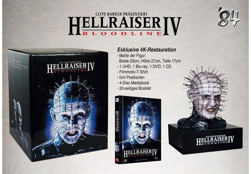 """""""Hellraiser 4: Bloodline"""" in der Collectors Edition inkl. Mediabook & Büste für 189,99€"""