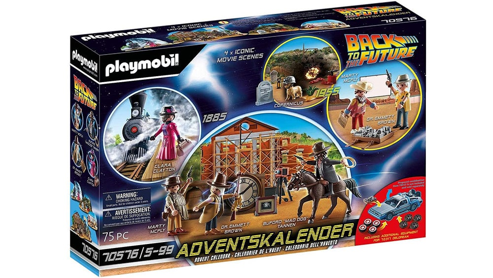 Playmobil – Back to the Future Part III Adventskalender