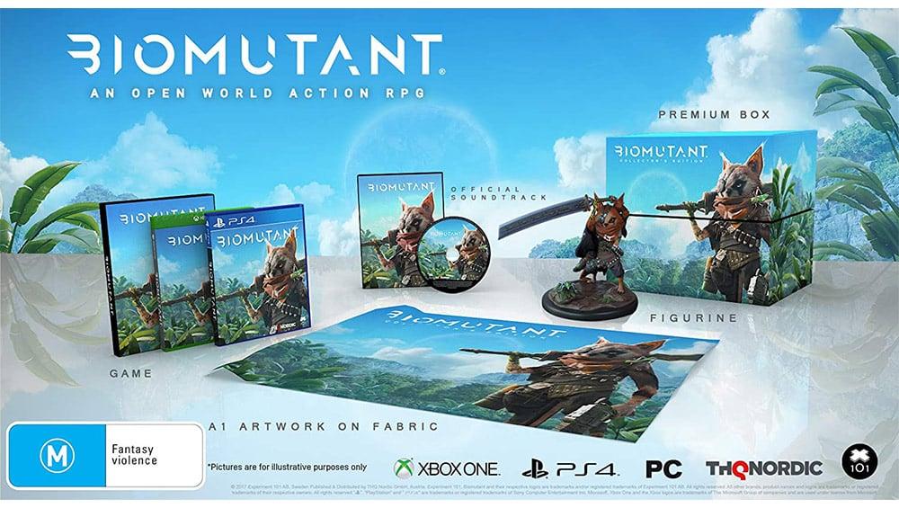"""""""Biomutant"""" Collectors Edition für die Playstation 4, Xbox One und den PC für je 69,99€"""
