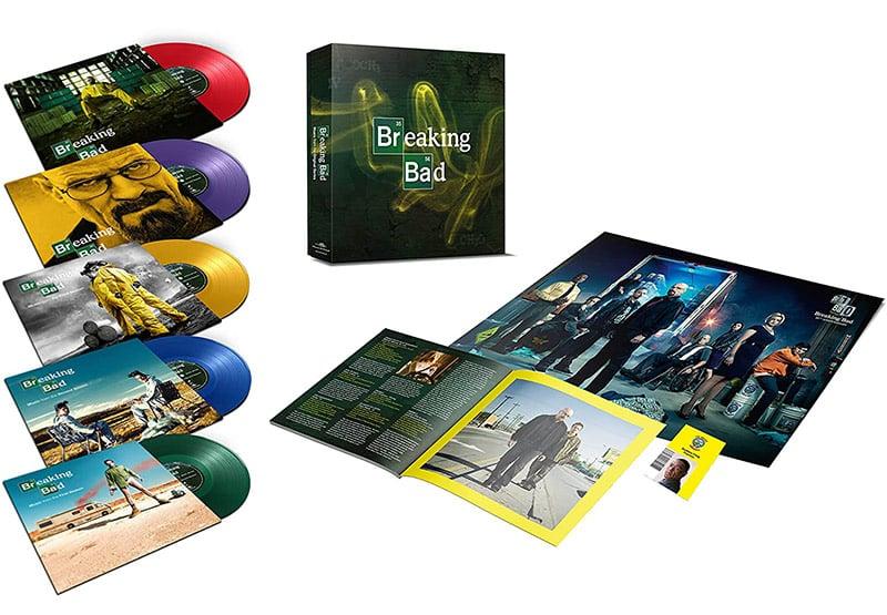 """Breaking Bad"" Soundtrack ab Oktober 2021 im Single Vinyl Box-Set"