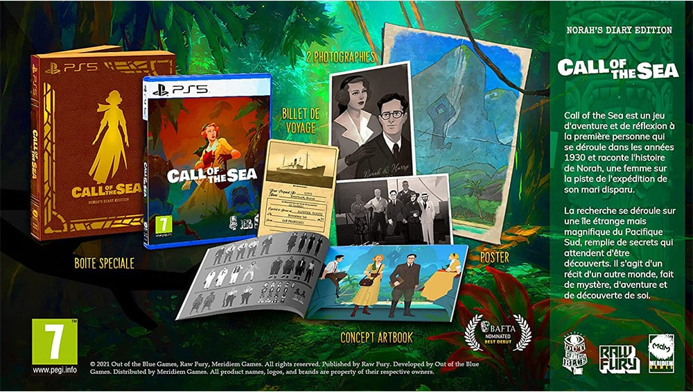 """""""Call Of The Sea"""" in der Norah'S Diary Edition für die Playstation 4/5 