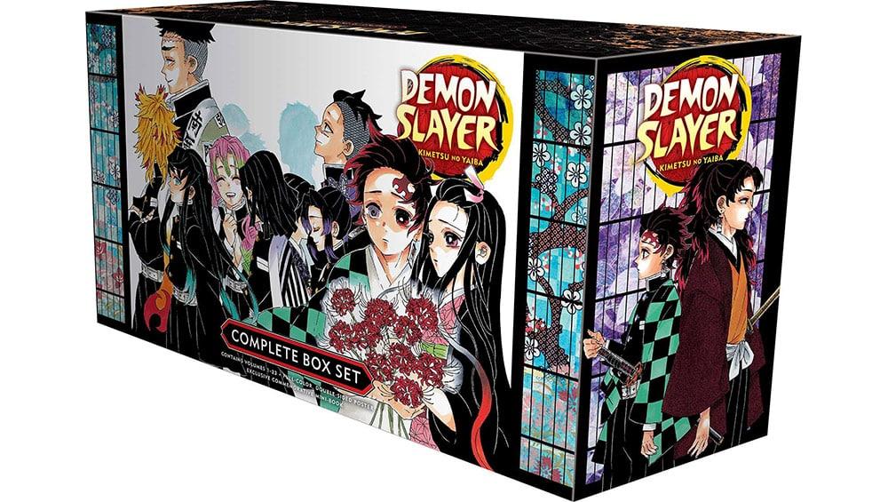 """Demon Slayer Complete Box Set"" inkl. den Volumes 1-23 + Booklet & doppelseitigem Poster (englisch) | ab Oktober 2021"