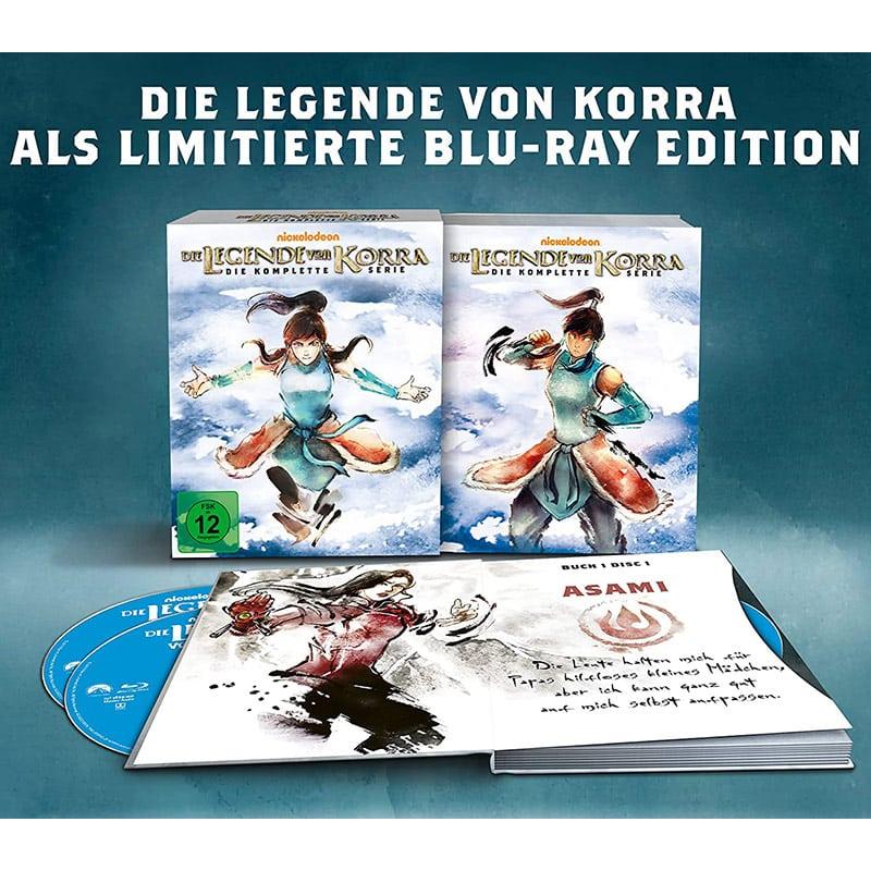 """""""Die Legende von Korra"""" die komplette Serie im Blu-ray Set für 73,41€"""