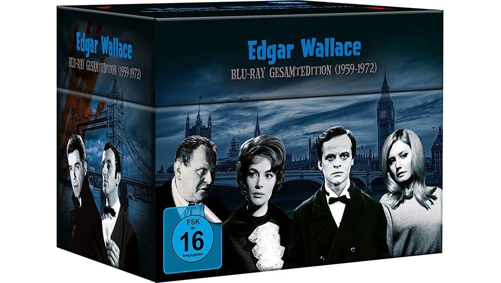"""Edgar Wallace Gesamtedition"" ab November 2021 in Amazon exklusiver Blu-ray Box – Update"