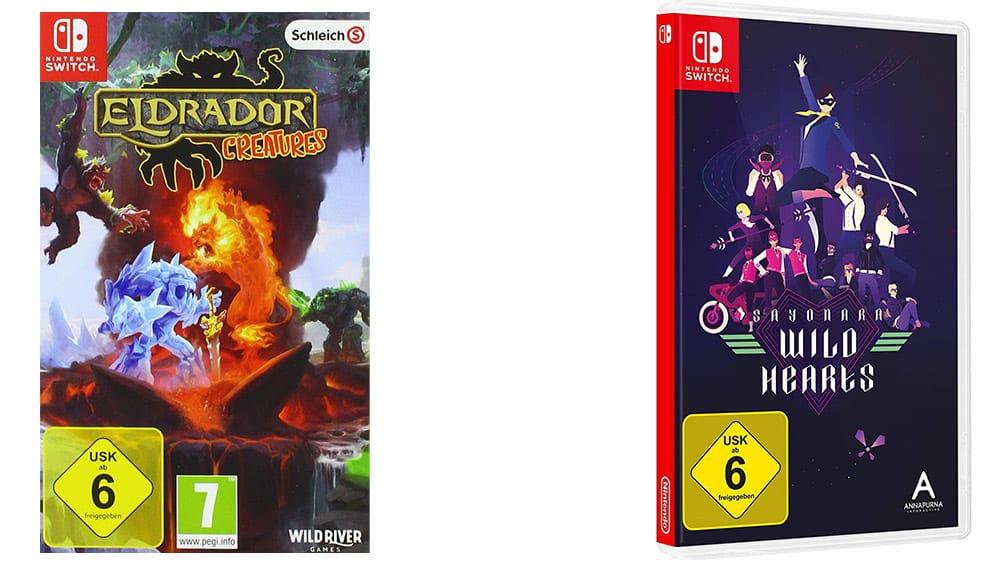 """""""Eldrador Creatures"""" und """"Sayonara Wild Hearts"""" für die Nintendo Switch für je 12,99€"""