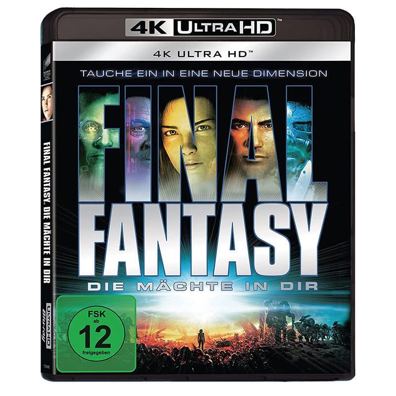 """""""Final Fantasy – Die Mächte in dir"""" ab November 2021 auf 4K UHD – Update"""