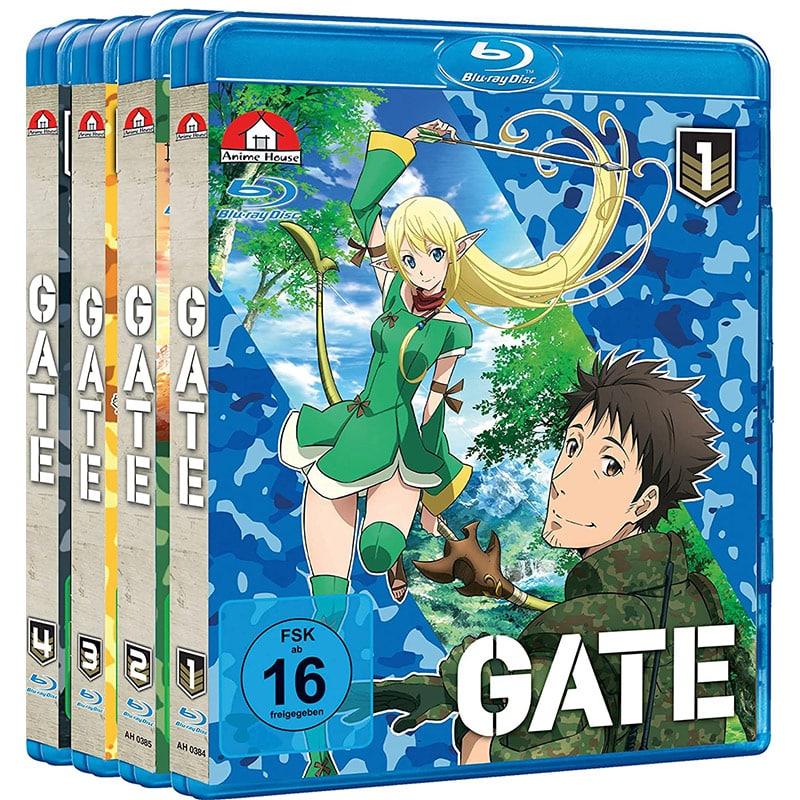 """""""Gate"""" vol. 1-4 Gesamtausgabe auf Blu-ray für 55,19€"""