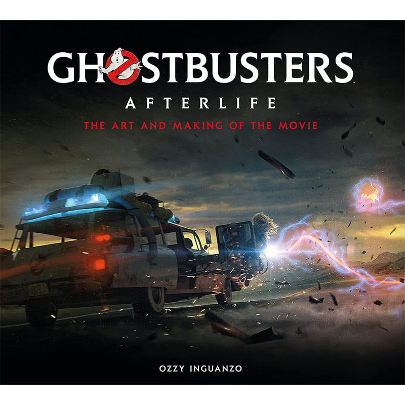 """""""Ghostbusters: Afterlife"""" The Art and Making of the Movie in der Hardcover Ausgabe 