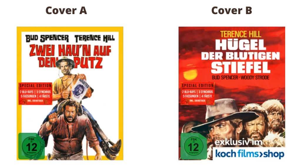 """""""Hügel der blutigen Stiefel (1969)"""" ab Dezember 2021 in 2 Blu-ray Mediabooks"""