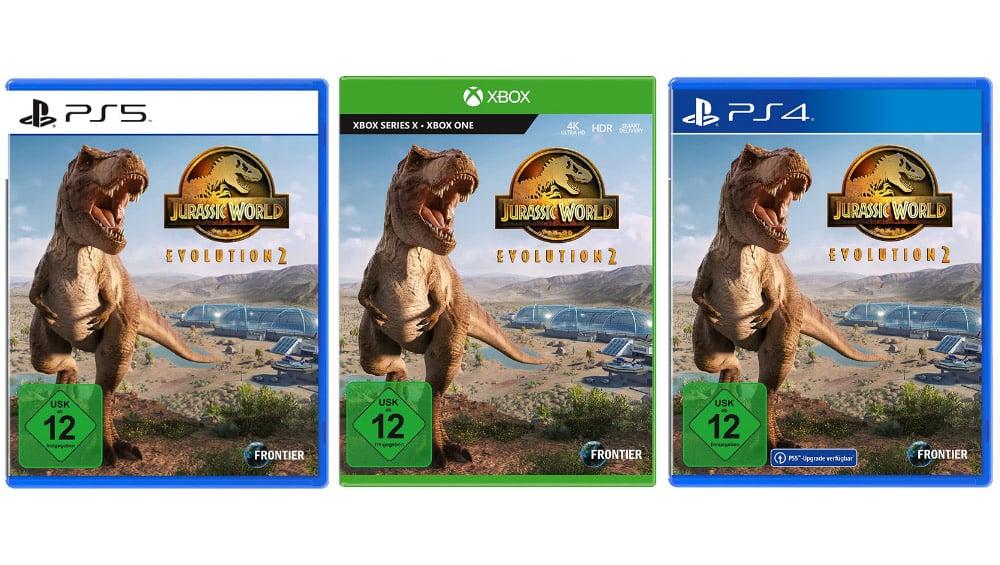 """""""Jurassic World Evolution 2"""" ab November 2021 für die Playstation 4/5 und Xbox One/ Series X"""