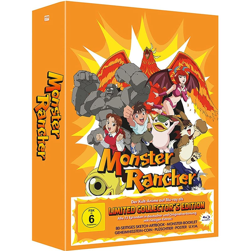 """""""Monster Rancher"""" die komplette Serie ab Dezember auf Blu-ray und DVD"""