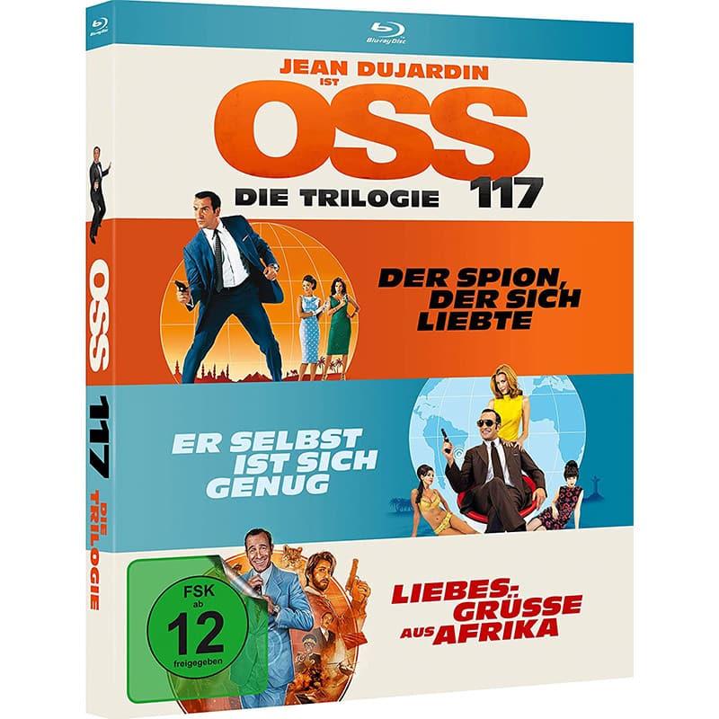 """""""OSS 117 – Die Trilogie"""" ab Dezember in einer Blu-ray Box"""